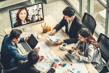 Video Call Group Business Peop...