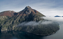 Aerial View Of The Mountains, ...