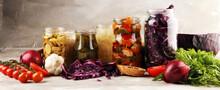 Preserves Vegetables In Glass ...