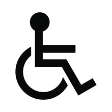 Disabled Sign Wheelchair Vecto...