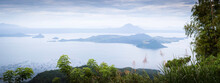 Taal Lake And Volcano In The P...