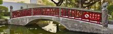 Bridge In Jieshou Park Near Ta...