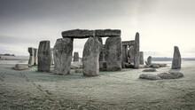 Frosty Stonehenge
