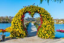 Love Bridge Leading To The Pav...