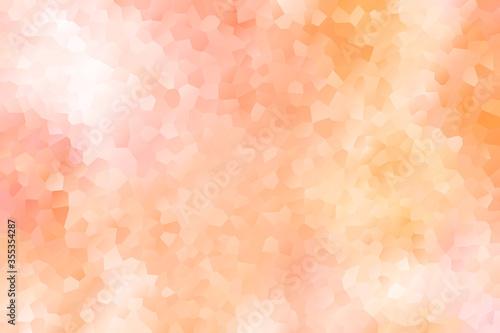 Canvastavla 背景 抽象的なグラデーションタイル オレンジ色と黄色