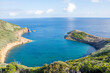 Walk on the Azores archipelago. Discovery of the island of Faial, Azores, Horta