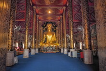 View Of Golden Giant Buddha St...