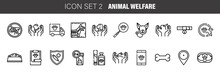 Pet, Animal Welfare Outline Ic...