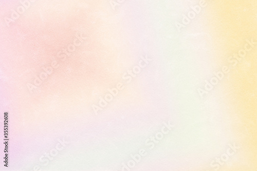 Obraz Multicolored pastel abstract background.Gentle tones paper texture. Light gradient.  The colour is soft and romantic. - fototapety do salonu