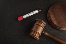 Judges Gavel Or Mallet Law And...
