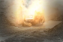Off-road Race Of Powerful Off-...