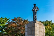 Statue Of Douglas MacArthur At Incheon, Republic Of Korea