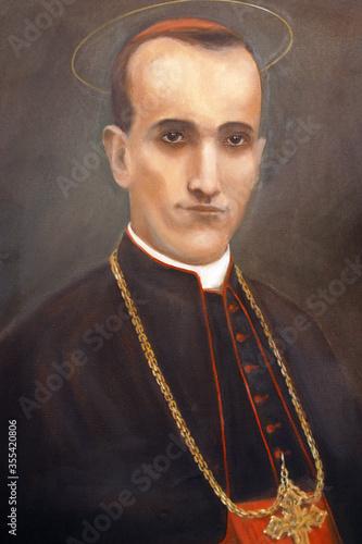 Valokuva Blessed Aloysius Stepinac altarpiece in the parish church of the Assumption of t