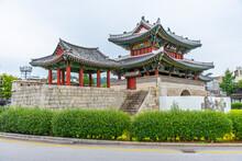 Pungnam Gate At Jeonju, Republ...