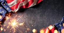 Usa Celebration With American ...