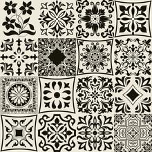 Set Of 16 Tiles Azulejos. Orig...