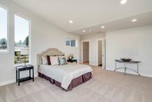 Restful Bedroom Interior With ...