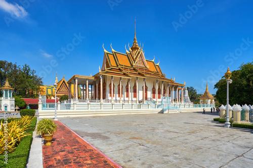 Tablou Canvas The Silver Pagoda at the Royal Palace of Cambodia