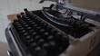 Old typewriter from 70s