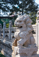 The Statue Of The China Lion