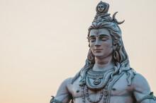 Close Up Of Shiva Statue In Ri...