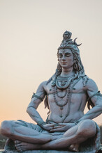 Statue Of Shiva God In Rishike...