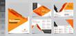 8 Page Corporate Business Brochure Template Design