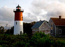 Nauset Lighthouse At Eastham, Cape Cod