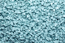 Abrasive Particles For Tumbling Machine. The Device For Polishing.