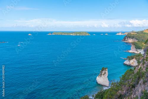 Obraz na plátně Seaside of Coromandel peninsula in New Zealand