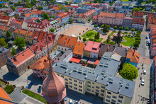 Aerial View Of Central Square ...