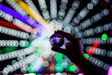 A Lensball With Bokeh All Around
