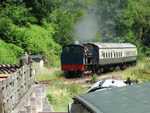 Steam Locomotive Dean Forest Railway