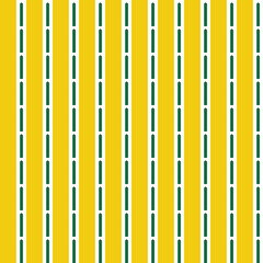 Vector seamless pattern texture background with geometric shapes, colored in yellow, green, white colors.