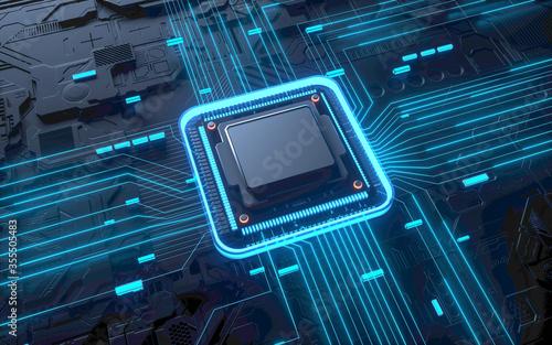 Fotografia Technology chip