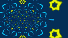 Ornate Geometric Wide Pattern ...