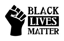 Black Lives Matter With Proud ...