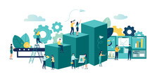 Vector Business Illustration, ...