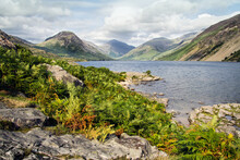 Wast Water In The Lake Distric...