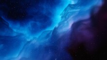 Abstract Blue Gas Background