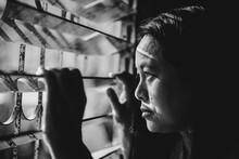 A Woman Trapped In A Prison Ja...