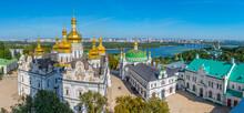 Aerial View Of Kiev Pechersk Lavra In Kiev, Ukraine