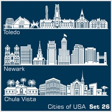 Cities Of USA - Toledo, Newark...