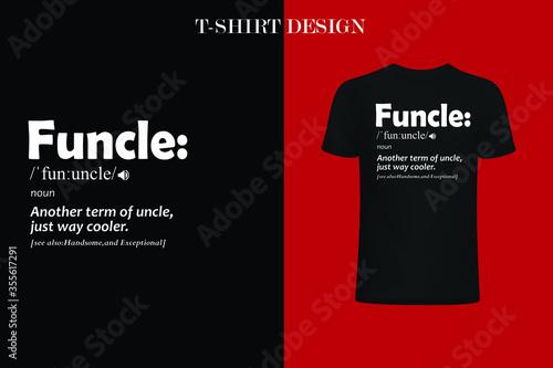Fotografie, Obraz funny definition t-shirt design