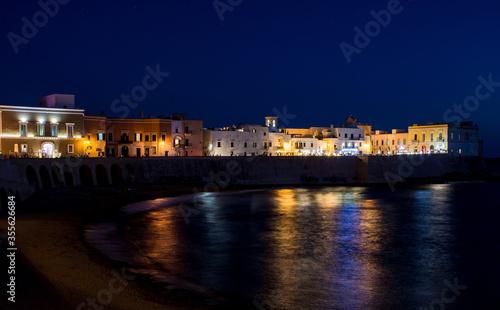 Fotografia Gallipoli - Notturno dalla spiaggia della Purità