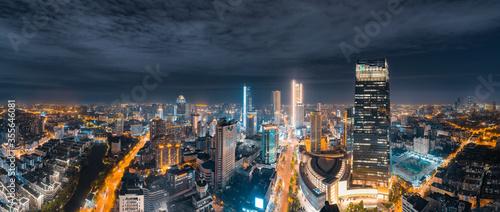 Foto Night view of Wuxi City, Jiangsu Province, China