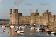 Caernarfon Castle, North Wales...