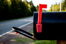 Open Mailbox By Road