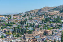 Aerial View Of Albaicin Neighb...