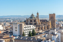 Aerial View Of Cathedral Of Gr...